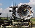 Satellite uplink icon