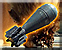 Mortar pit explosive mortar icon