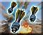 Mortar track smart mortar shells icon