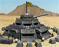 Tech war fortress icon
