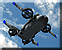 Call drone airlifter icon