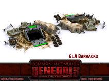 GLA Tunnel Barracks