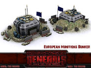 EU Munition Bunker lockdown