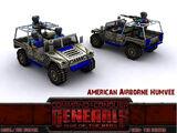 Airborne Humvee