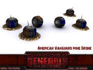 Vanguard mine drone render