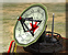 Radio interception dish icon