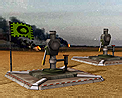 Tech oil well icon