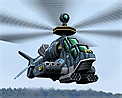 Tiger gunship icon