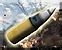 Howitzer position artillery barrage icon