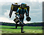Jumpjet trooper touch down icon