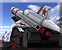 Weapon bunker surveillance missile icon