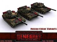 Russian Kodiak Variants