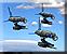 Deploy combat drones icon