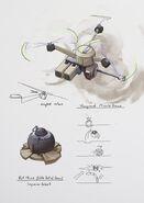 Vanguard attack drone concept art