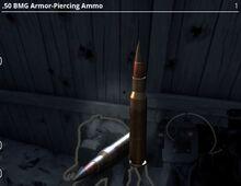 .50 BMG Armour-Piercing Ammo