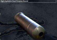 High-Explosive Dual-Purpose Round