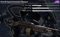 Kvm 89 Squad Automatic Weapon - 4c