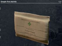 Simple First Aid Kit