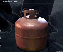 Explosive Gas Tank