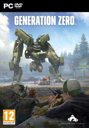 Generation Zero Box Art