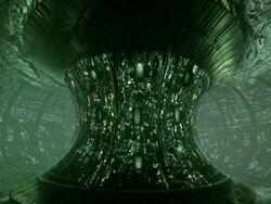 Borg Sphere interior