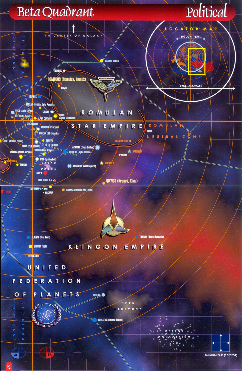 Beta Quadrant Star Trek Generation Fleet Wiki Fandom Powered