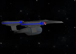 USS Excalibur beauty
