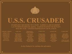 Plaque-Crusader