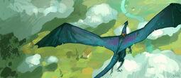Saphira Flying