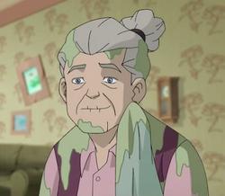 Grandma Moonlighting