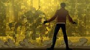 317-Rex traps enemies