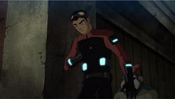 Rex's power suit