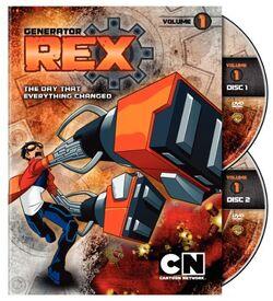 Generator Rex volume 1