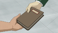 Six gives Rex a journal.png