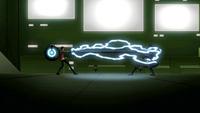 Rex electrocutes Van Kleiss