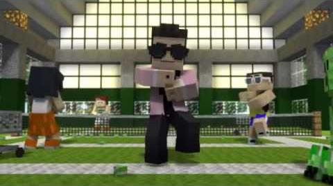 Minecraft Style - A Parody of PSY's Gangnam Style (Music Video) (Reupload)
