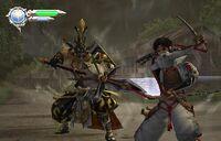 Hoe Goblin vs Yoshitsune (Gojo Bridge) HD