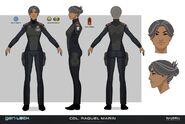 Col R Marin Concept Art