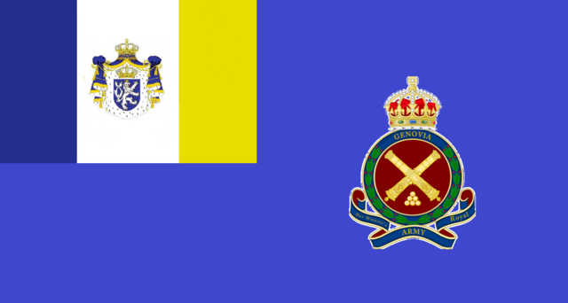 File:Flag of the Royal Genovian Army.png