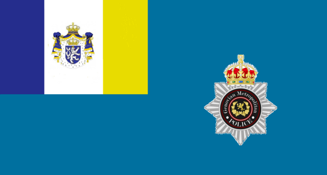 File:Flag of the Royal Metropolitan Police of Genovia.png
