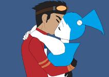 Rex X Jenny kiss