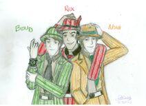 For elecktrum ben10 rex noah and zoot suits by deserthaze-d4yahx5