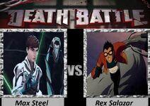 Max steel vs rex salazar by luigiguy54-d6prxsx