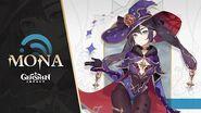 "New Character Demo - ""Mona Fate and Destiny"" Genshin Impact"