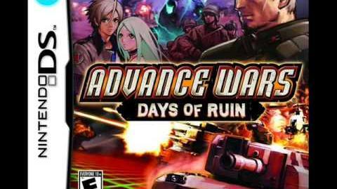 Advance Wars Days of Ruin OST 15 - First Strike (Menu theme)