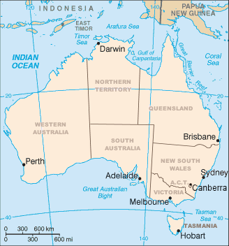 Map of Australia (1)