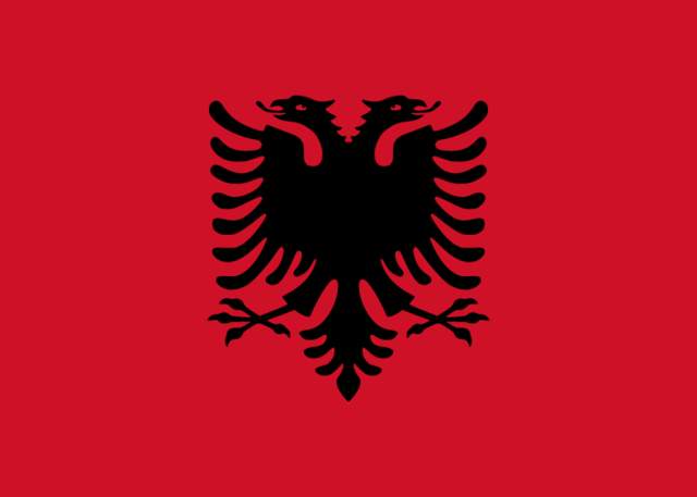 Bestand:Flag of Albania.png