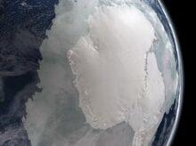 Antarktyda z kosmosu
