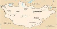 Mongolia - mapa