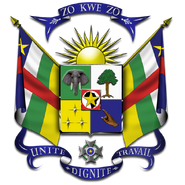 Godło Republiki Środkowoafrykańskiej